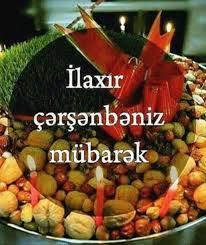 Image result for ilaxır çərşənbə 2020